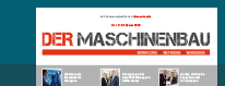 DER MASCHINENBAU Newsletter