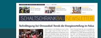 SCHALTSCHRANKBAU News