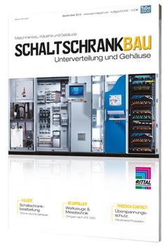 """Erstausgabe """"SCHALTSCHRANKBAU - Unterverteilung und Gehäuse"""" im Oktober 2014"""