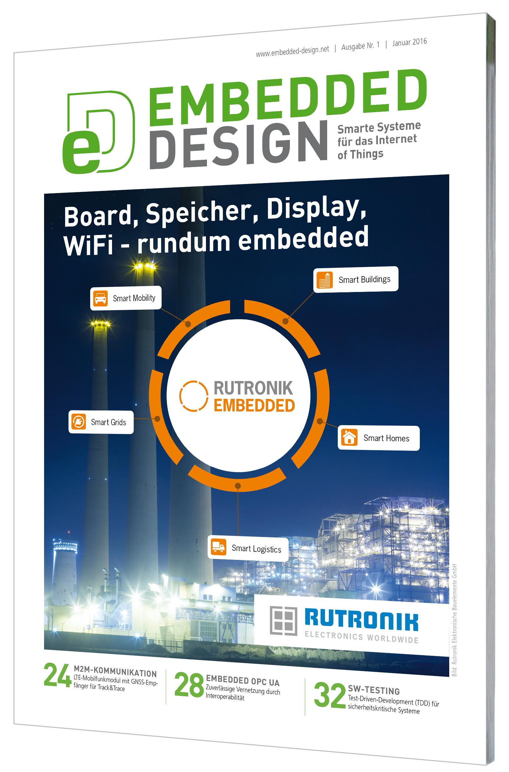 Fachmagazin Embedded Design