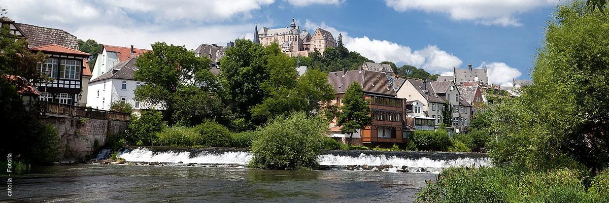 Die beliebte und pulsierende Universitätsstadt Marburg bietet viele Freizeitmöglichkeiten mit über 70.000 Einwohnern