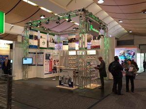 IT&Production Messestand des TeDo Verlages in Halle 7