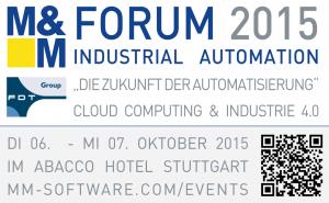 M&M Forum Industrial Automaion 2015