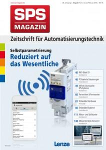 Titelseite SPS-MAGAZIN Ausgabe 1+2 2016