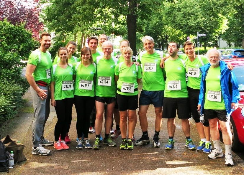 Läuferteam des TeDo Verlags