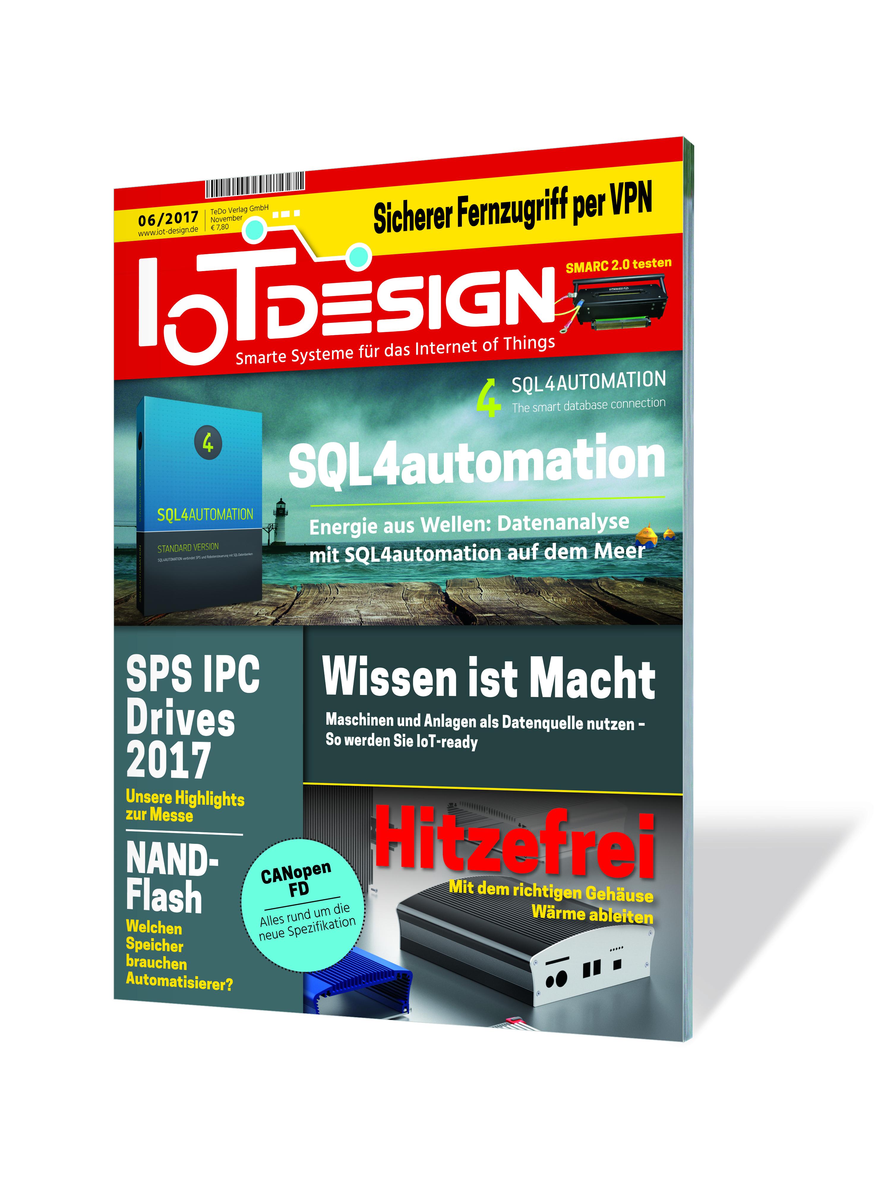 Fachmagazin IoT Design
