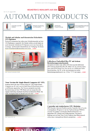 Automation Product Newsletter