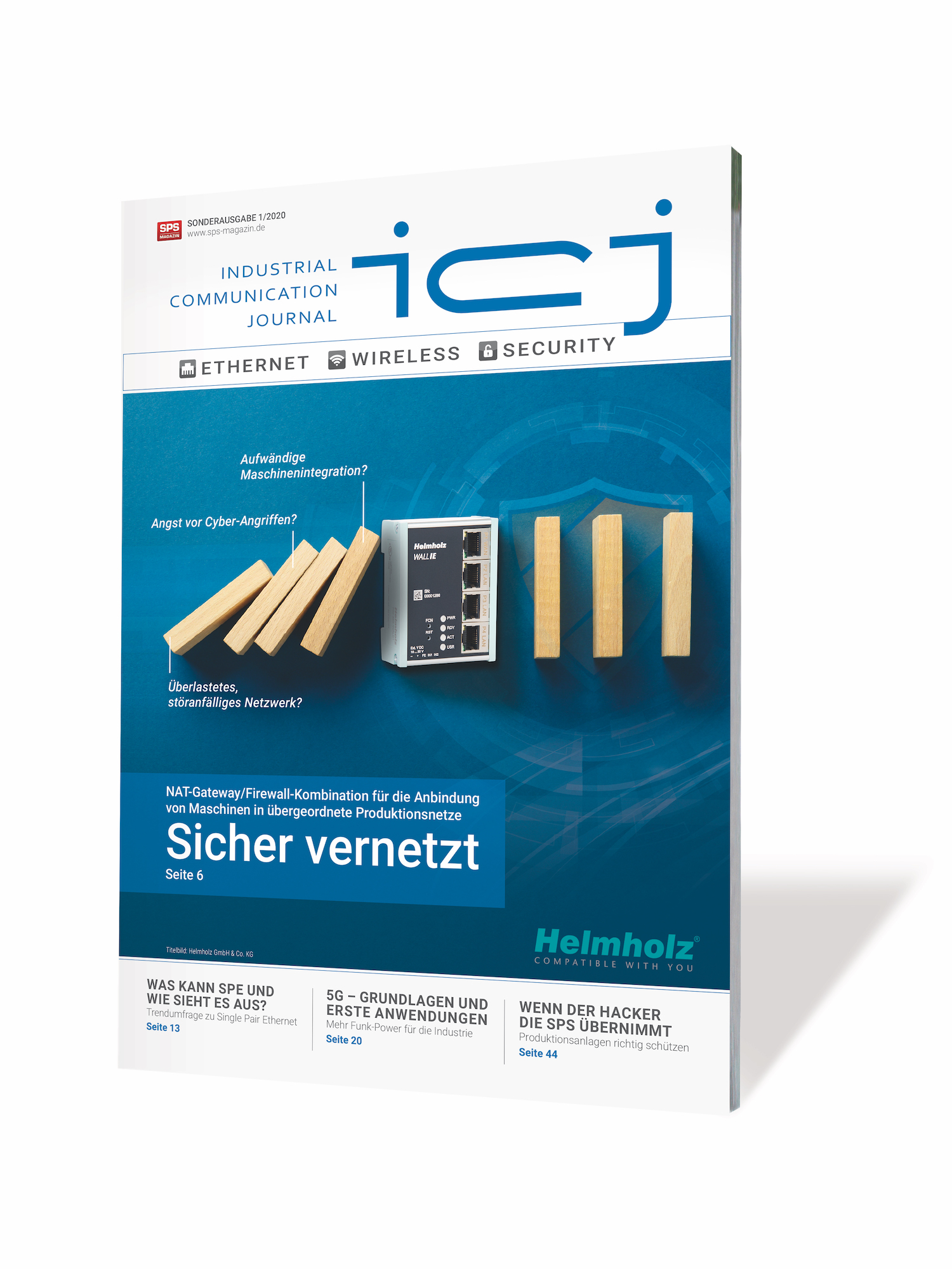 Fachzeitschrift Industrial Communication Journal