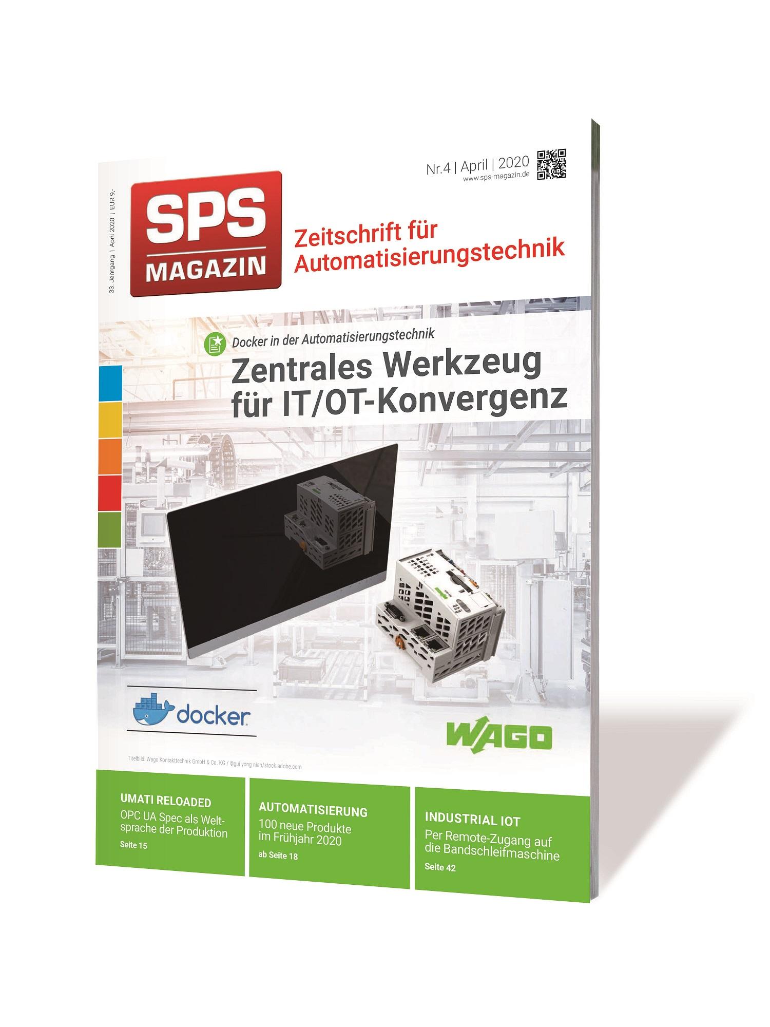 SPS-MAGAZIN Fachmagazin über Automatisierung
