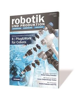 Titelbild der Erstausgabe der ROBOTIK UND PRODUKTION