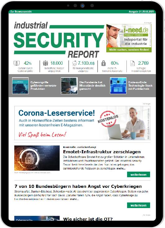 INDUSTRIAL SECURITY REPORT